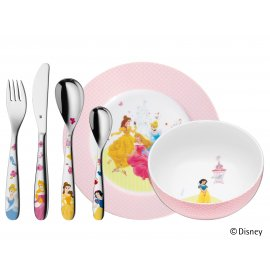 Kinderbesteck Set 6 Disney PRINCESS