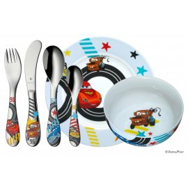 Kinderbesteck Set 6tlg DISNEY CARS 2