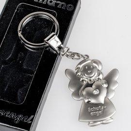 Schlüsselanhänger Schutzengel mit Herz