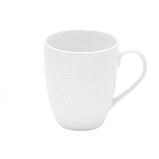 Kaffeebecher Porzellan weiß Retsch