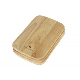 Frühstücksbrett Holz 22x15cm 3 Set