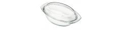 Schüssel oval mit flachem Deckel Simax