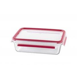 Frischhaltedose aus Glas rechteckig Clip&Close