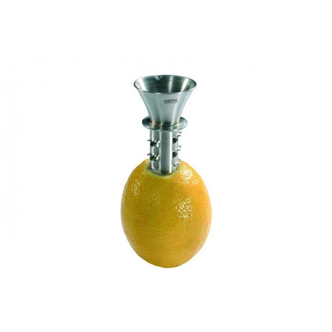 Zitronensaft-Ausgießer Gefu