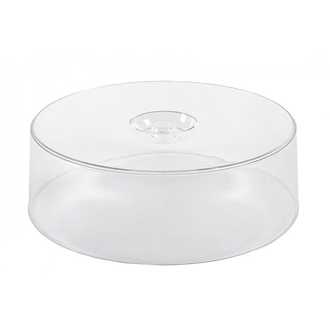 Haube für Tortenplatte Kunststoff 30cm