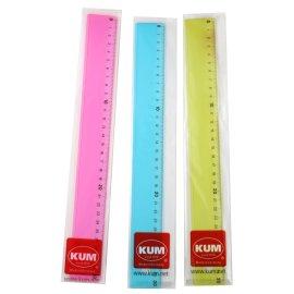 Lineal 30cm Kunststoff KUM