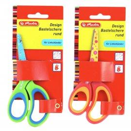 Design Bastelschere rund für Linkshänder