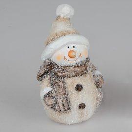 Schneemann Frosty-creme 15cm