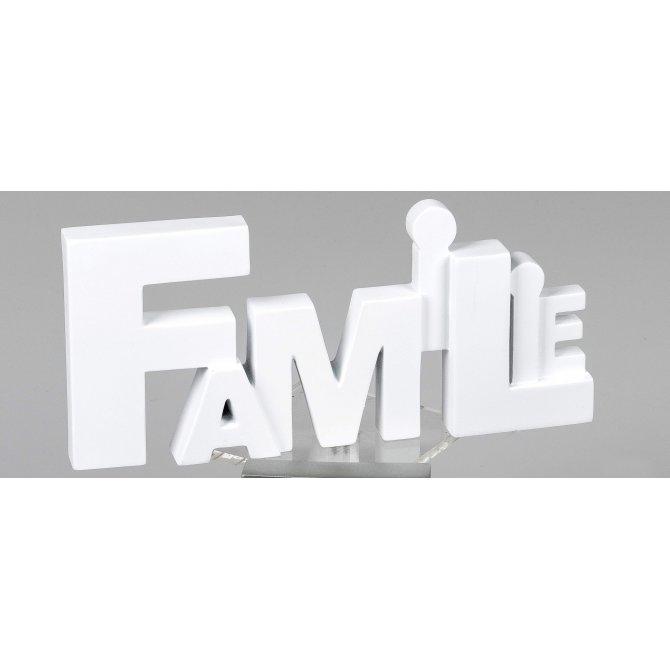 Schriftzug Familie 27cm