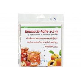 Einmach-Folie 1-2-3