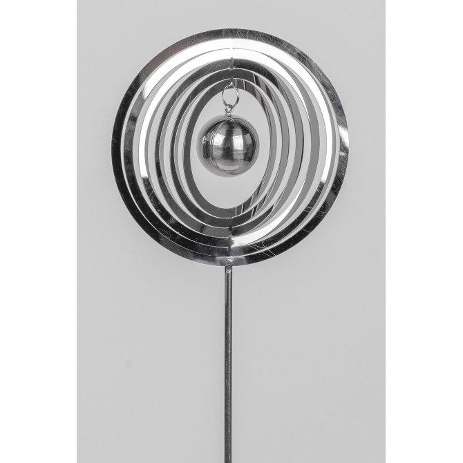 Stecker 80 cm Edelstahl-Kugel