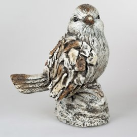 Vogel 40cm Stone-Art