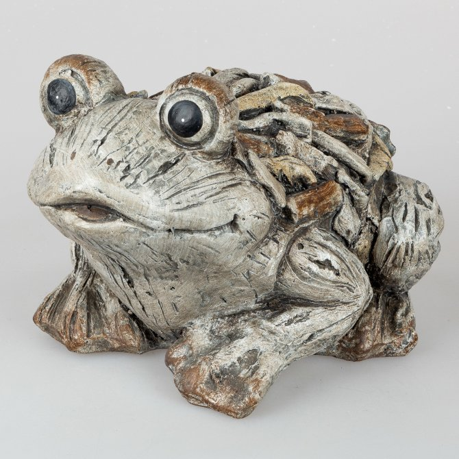 Frosch 37cm Stone-Art