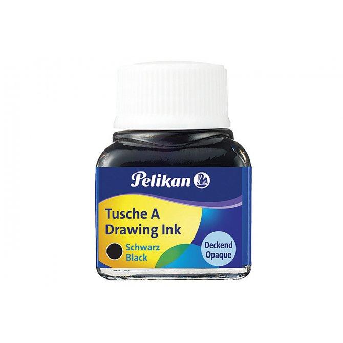 Tusche 10ml schwarz